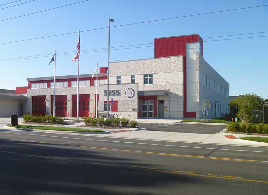 Alexandria Fire Station #210 & Impound Lot