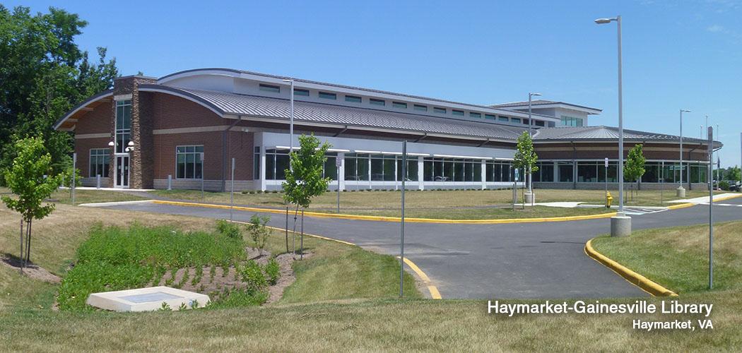 Haymarket Gainesville Library